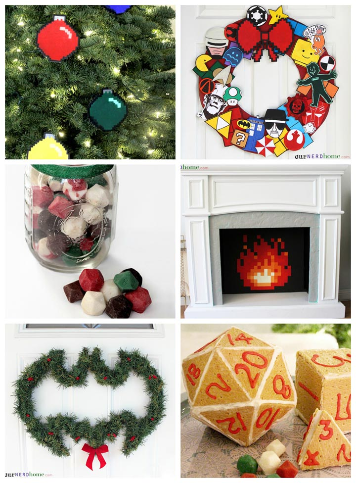DIY Geeky Holiday Projects - Our Nerd Home